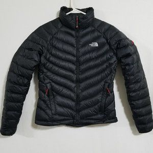North Face Womens Black Small Down Winter Jacket S